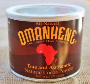 Omanhene cocoa is a natural cocoa with a subtle, complex flavor