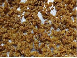 Buttered hickory nuts