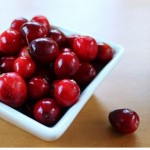 Wild large cranberries
