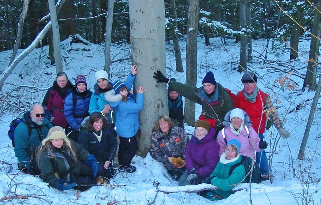 This motley crew trained together at a Vermont based wildlife tracking program called Keeping Track.