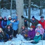 This motley crew trained together at a Vermont based tracking program called Keeping Track.