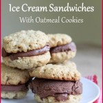 Chocolate Goat Milk Ice Cream Sandwiches