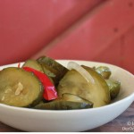 What makes these bread and butter pickles so special? Mostly it's the combination of spices, but using all brown sugar and apple cider vinegar also add to the deliciousness. My favorite way of preserving cucumbers.