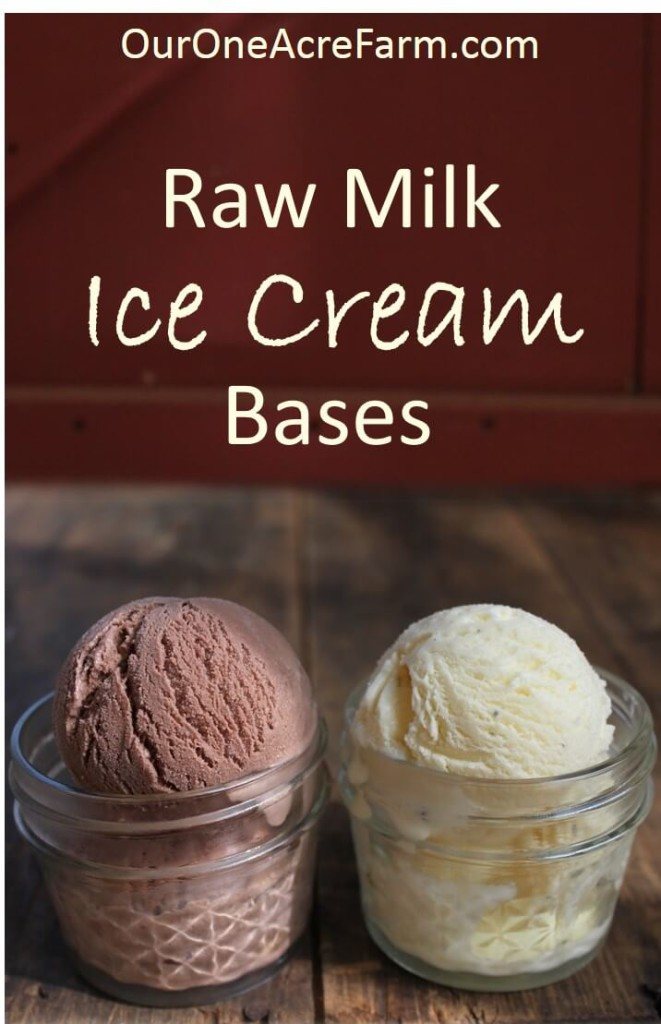 Homemade raw milk ice cream bases quick easy and exceptionally creamy recipes for vanilla and chocolate homemade raw milk ice ccuart Images